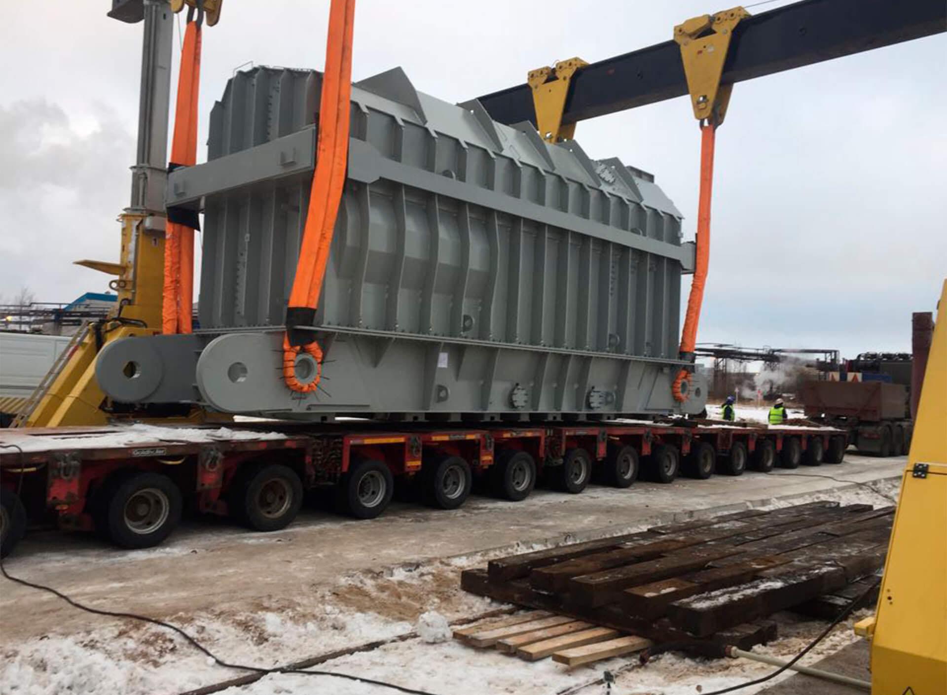 Доставка трансформаторов на Калининскую АЭС